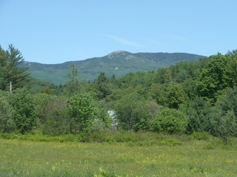 Hunger Mountain in summer.